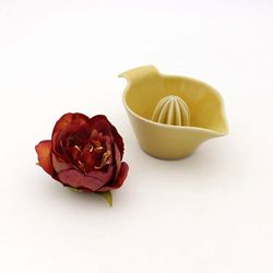 NEMO 달소금 핸드메이드 도자기 유광 레몬 스퀴저과즙기-레몬