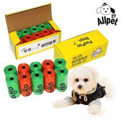올펫 푸푸백 150매입 친환경 배변봉투 (15매 x 10롤)