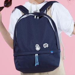[플랩비]Hidden Pocket Backpack (NAVY)