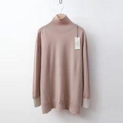 Laine Wool Combo Turtleneck Sweater