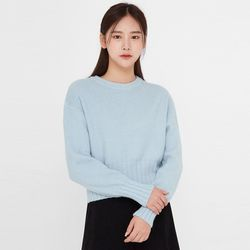 a roy line crop knit