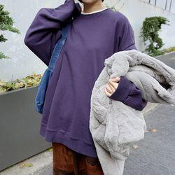 washed loose sweatshirts (3colors)