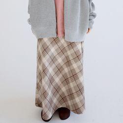 glen check skirts (2colors)