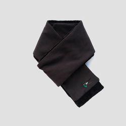 호작도 까치 보들 목도리 (블랙)
