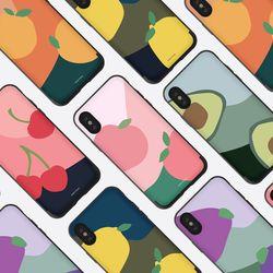 나인어클락 이상한나라의 과일 카드슬롯 케이스 - 아이폰7 8