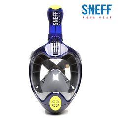 스네프 스마트 스노쿨링마스크 SMT-8001 블루