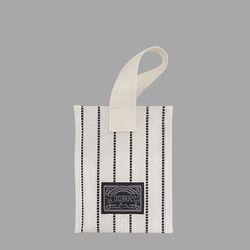 Black Stitch Bag (Cube Bag)