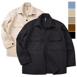 제이스 숏 투포켓 울 셔츠 자켓 CTJ022