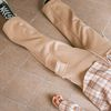 NEONDUST 19W Cotton Pants - BEIGE
