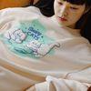 NEONMOON Sleepy Cats Sweat shirt - IVORY