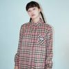 NEONMOON 19W Check Shirt - PINK