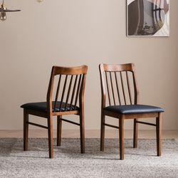 바미르 고무나무 원목 식탁 의자