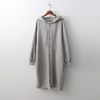 Gimo Hood Long Zip-Up Jumper