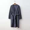 Hood Wool Wrap Long Coat - 핸드메이드