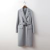 Wool Double Button Coat - 핸드메이드