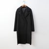 Cashmere Wool Single Coat - 핸드메이드