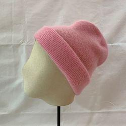 Angora B Beanie Hat