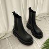Chevron Chelsea Boots