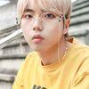 마름모사각 믹스체인 안경줄 (골드)
