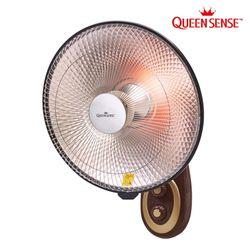 퀸센스 16형(40cm) 벽걸이형 원적외선 전기히터 QSH-404K