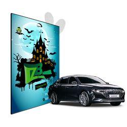더뉴그랜저 저반사 네비게이션+계기판+공조기 필름