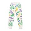 PAINTING HEAVY SWEAT JOGGER PANTS WHITE MULTI