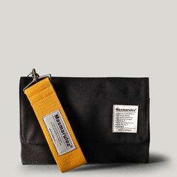 S mini pocket cross bag  - Black