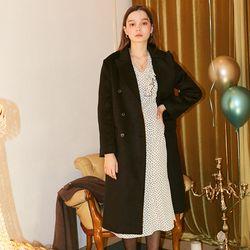 Basic Wool Coat Black