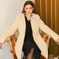 Teddy Bear Coat Ivory