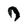 [오뜨르뒤몽드] cloud velvet hairband (black)