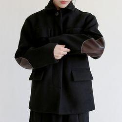 martin patch jacket (2colors)