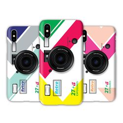 [T]레트로카메라 스마트톡 3D하드.아이폰7(8)플러스공용