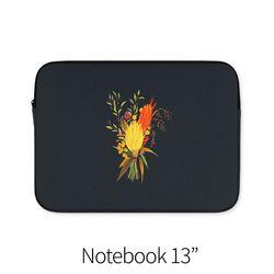 가을 꽃다발 (노트북 13인치 파우치)