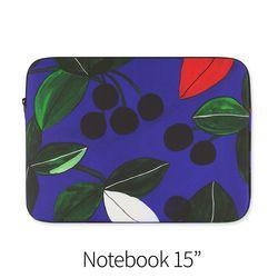 열매 패턴 (노트북 15인치 파우치)