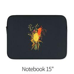 가을 꽃다발 (노트북 15인치 파우치)