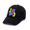 MULTIPLE COLOR WASHED BASEBALL CAP BLACK