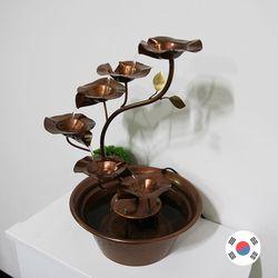 꽃 6송이 실내 동분수대 SWH-724 자연가습기 국내제조