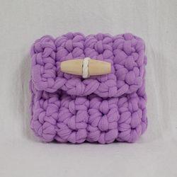 Duffle knit case (Lavender)