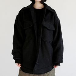 snow flake wool jacket (2colors)