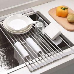 설거지롤매트 식기건조대