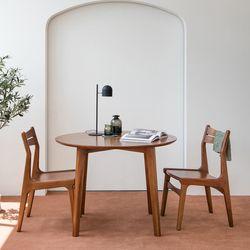 피카 원형 테이블 2인 세트