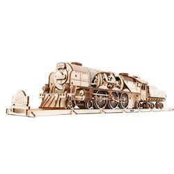 538피스 목재 입체퍼즐 - 유기어스 고속 증기기관차