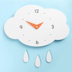 (ktk146)저소음 구름과비 벽시계