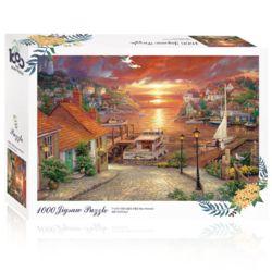 토이앤퍼즐 노을녘 수평선 1000피스 풍경 직소퍼즐