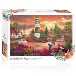 토이앤퍼즐 행복의 휴가 1000피스 풍경 직소퍼즐