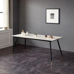 모티브 사각 세라믹 6인 식탁 (의자별도)