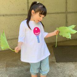 여아 남아 아동 여름 반팔 티셔츠
