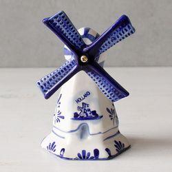 델프트 블루 풍차 -화이트 (W0615)
