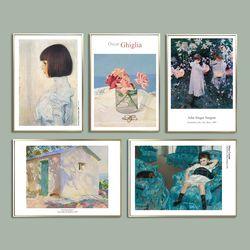 명화 매일 나의그림 포스터 (A4)