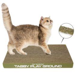 테비 고양이 스트레스해소용 장난감 평판 스크래쳐